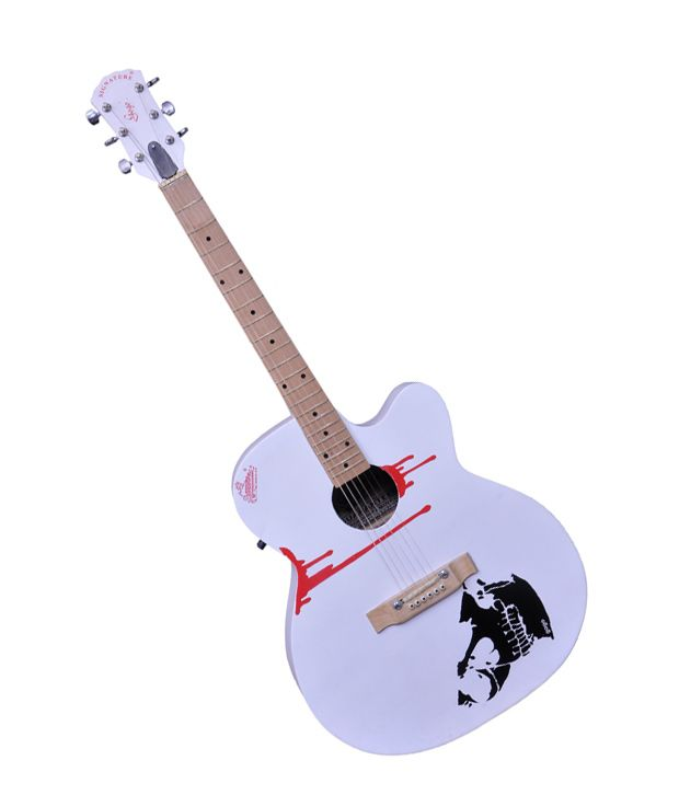 Signature Gogos Blade Series Acoustic Guitar w/cut w/Eq. White
