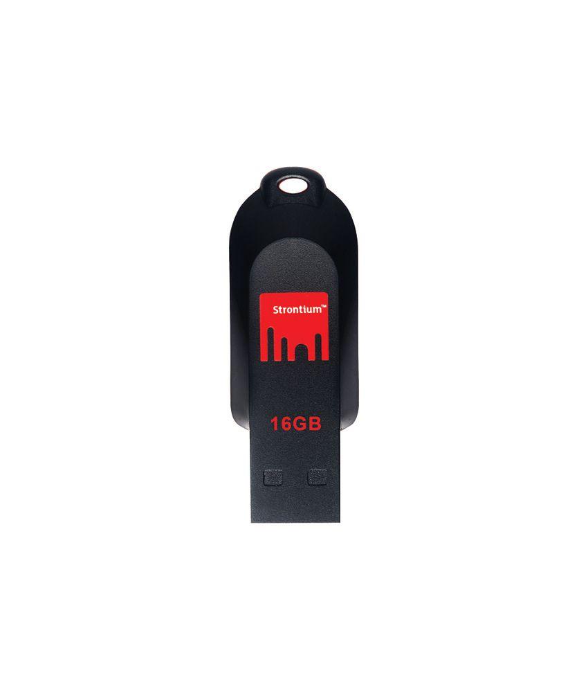 Strontium Pollex 16  GB USB 2.0 Pen Drive