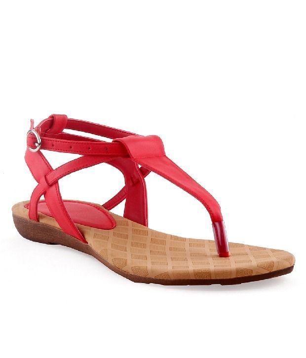 Kielz Red Sandal