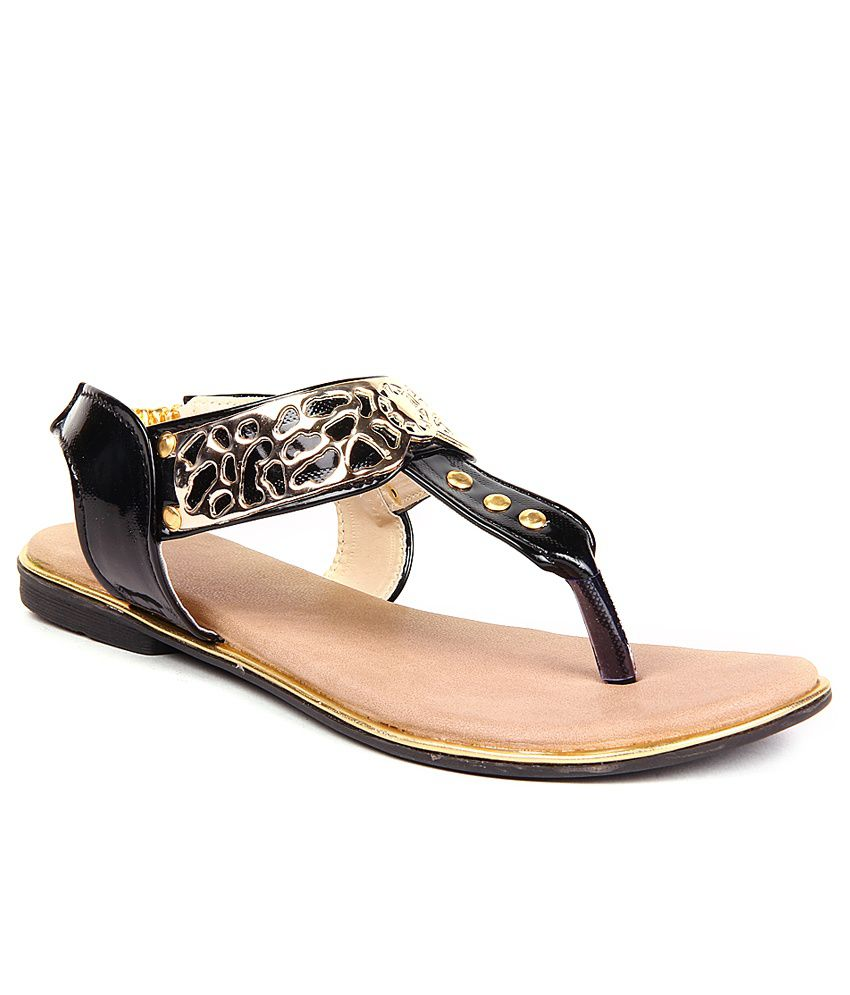 Anand Archies Black Sandal