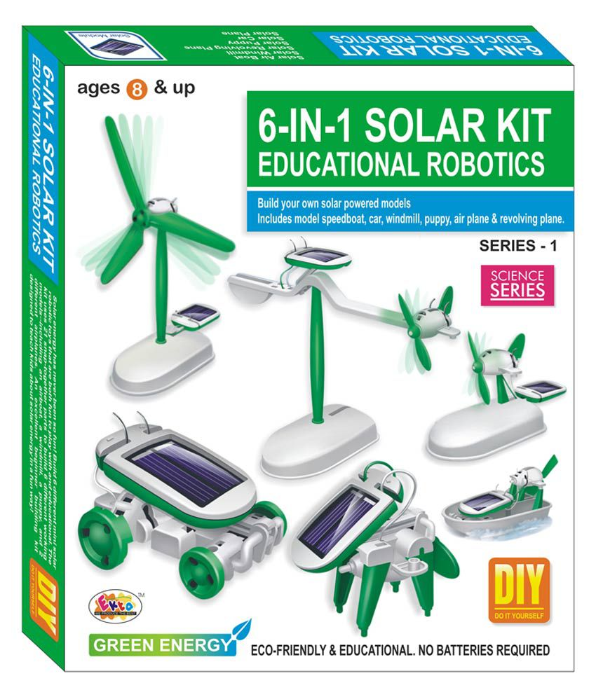Buy Ekta 6in1 Solar Michaelieclark Bullet Train Educational Diy Kit Robotics Series 1