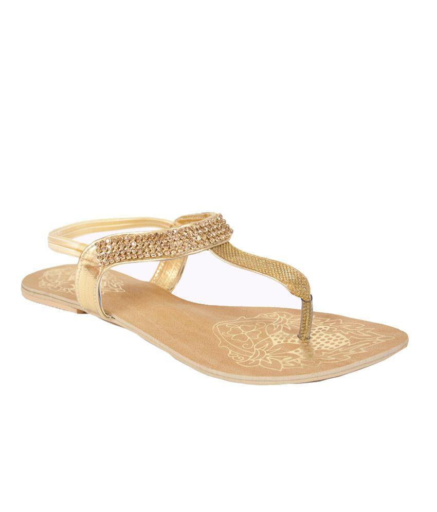 Aashka Gold Sandal