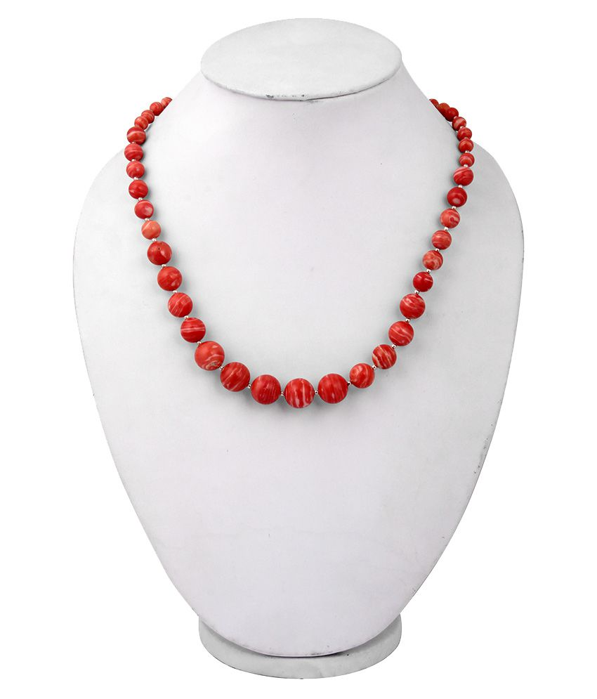 Pearlz Ocean Mosaic Beads 18 Inches Journey Necklace