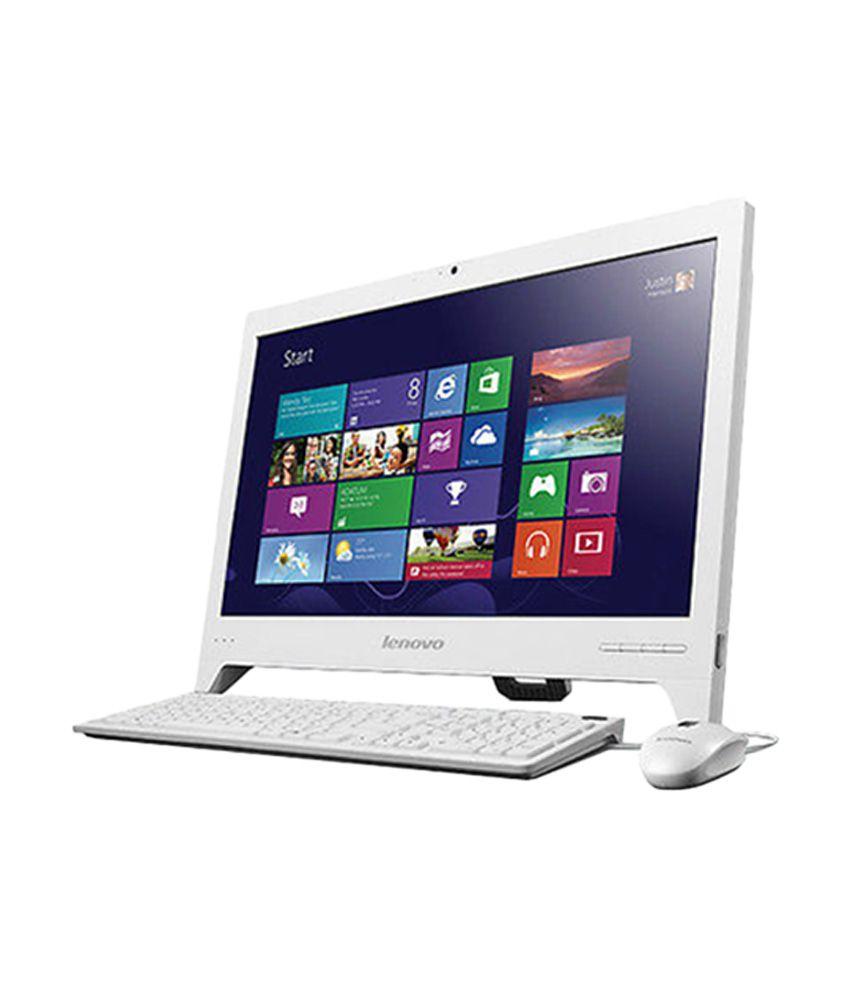 lenovo c260 57325931 all in one desktop cel d c j1800. Black Bedroom Furniture Sets. Home Design Ideas