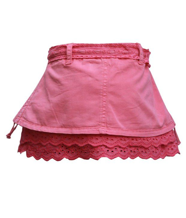 Gron Stockholm Pink Skirts  For Girls