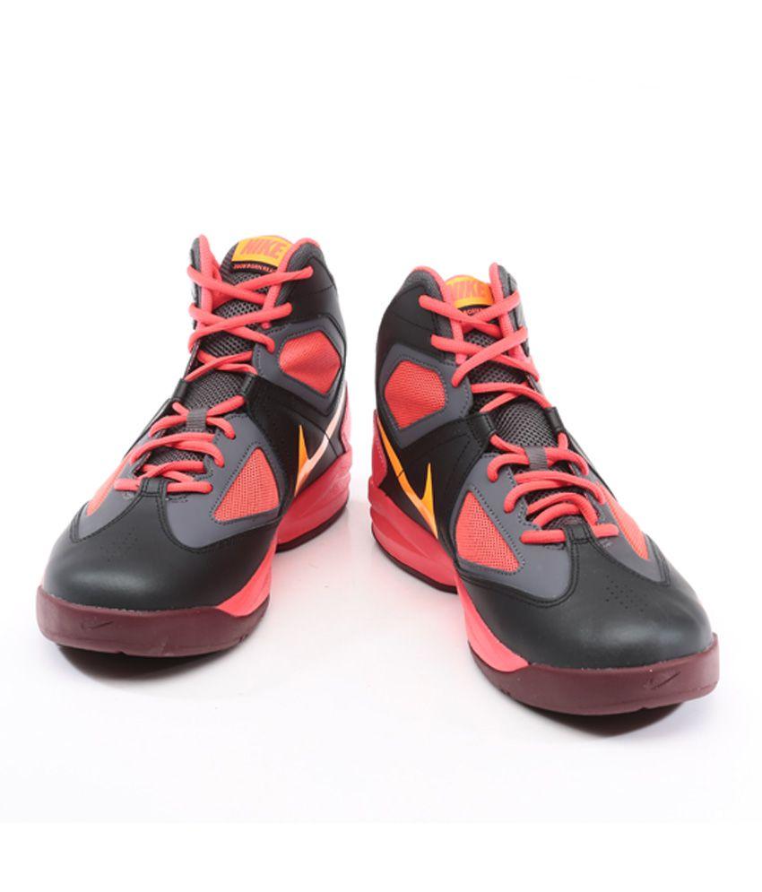 aspecto Hacer un muñeco de nieve en cualquier momento  NikeZoom Born Ready Black Basketball Shoes - Buy NikeZoom Born Ready Black  Basketball Shoes Online at Best Prices in India on Snapdeal