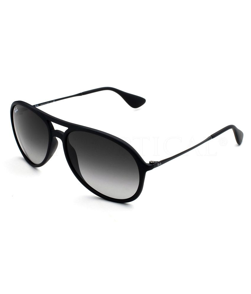 shades ray ban price  Ray Ban RB4201-Alex-622-8G-59 Black Medium Men Aviator Sunglasses ...