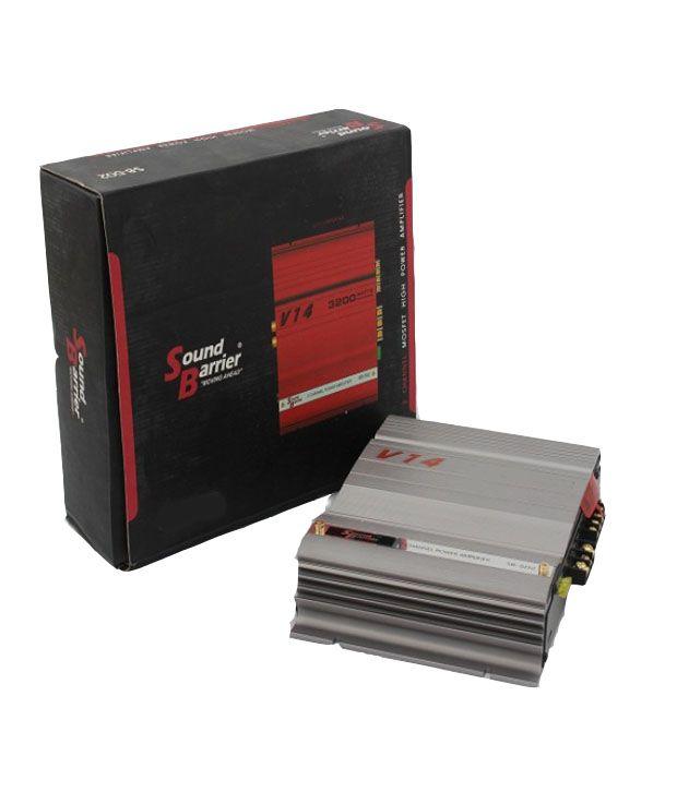 Sound Barrier - SB506 - 3400 Watts - 2 - Channel Bridgeable Amplifier