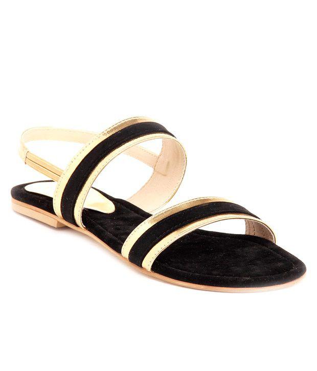 Lovely Chick Black Sandal