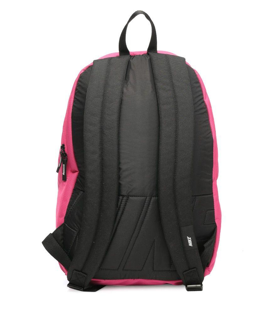 83ac8b9ab49c Nike 653 Pink Backpack - Buy Nike 653 Pink Backpack Online at Best ...