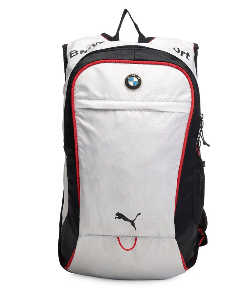 Puma White BMW Motorsports Backpack - Buy Puma White BMW Motorsports  Backpack Online at Best Prices in India on Snapdeal 5b04c55444463