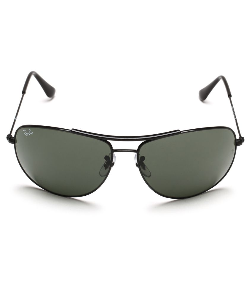 Ray ban sunglasses with price -  Ray Ban Rb3412 002 Large Size 63 Oversized Sunglasses