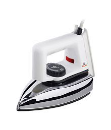 Bajaj Popular Dry Iron Ironwhite