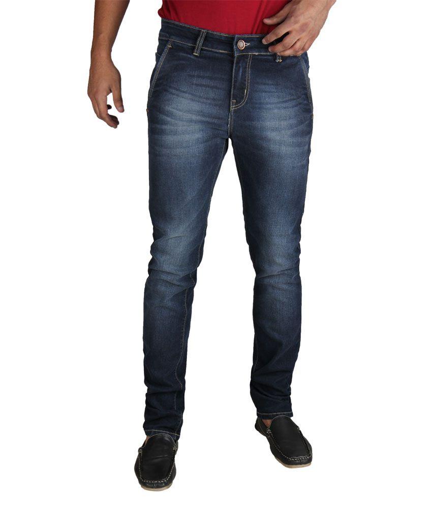 Fever Blue Slim Fit Jeans