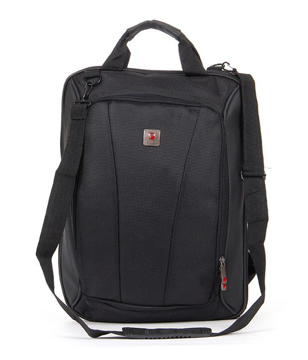 Flylite Black PB-082 Laptop Bag