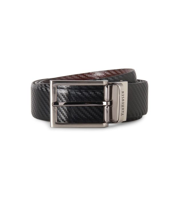 Van Heusen Black Formal Belt ForMen