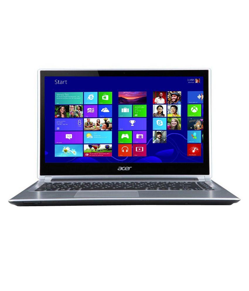 Acer V5-472P (NX.MAUSI.002) Laptop (3rd Gen Core i3- 4 GB RAM- 500 GB HDD- 35.56cm (14)- Windows 8) (Cool Steel)