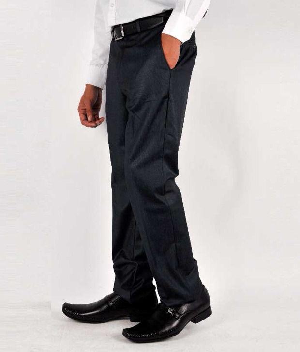 Blackberrys Formal Trousers Blue Formal