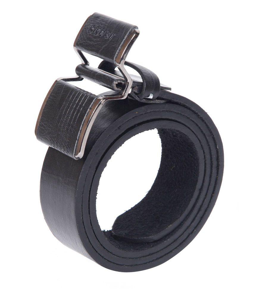 Coaster Stylish Leather Pin Buckle Belt Buckle Black