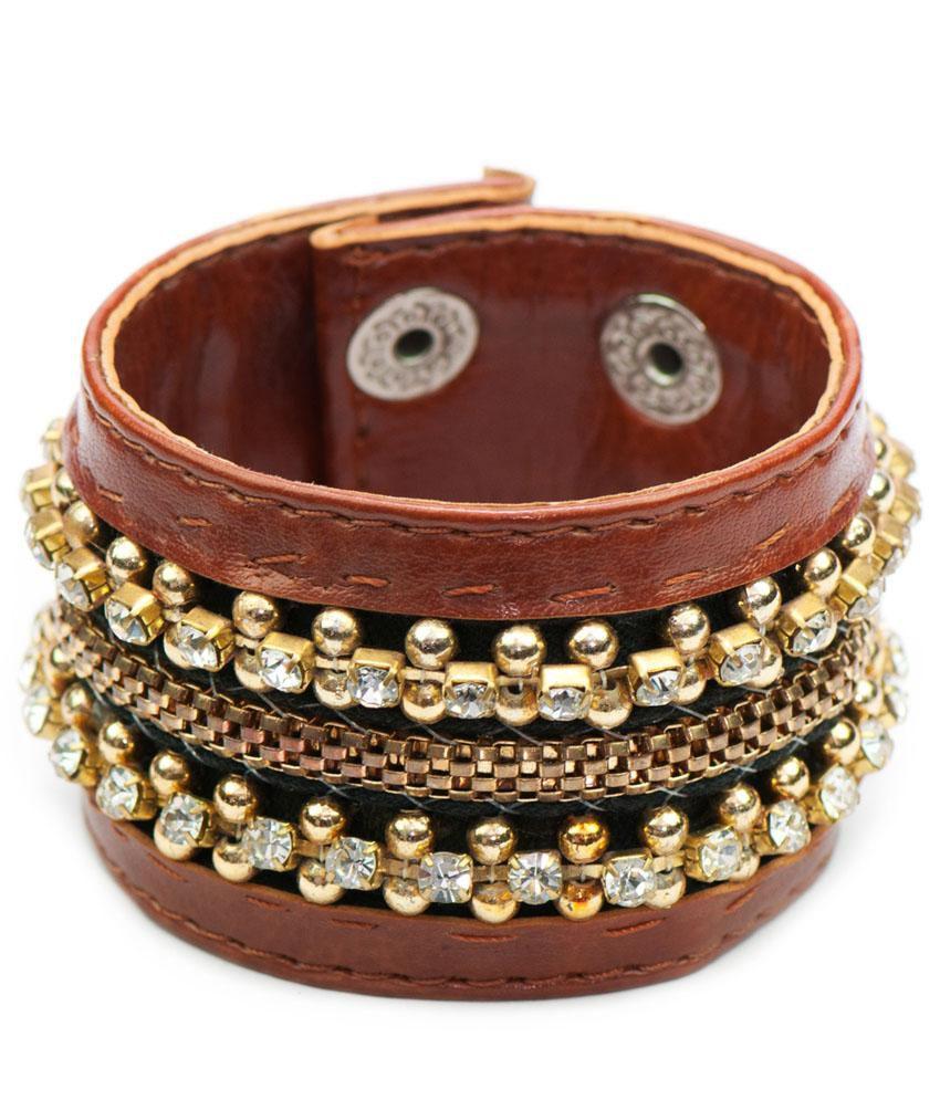 Fejour Brown Bead Bracelets