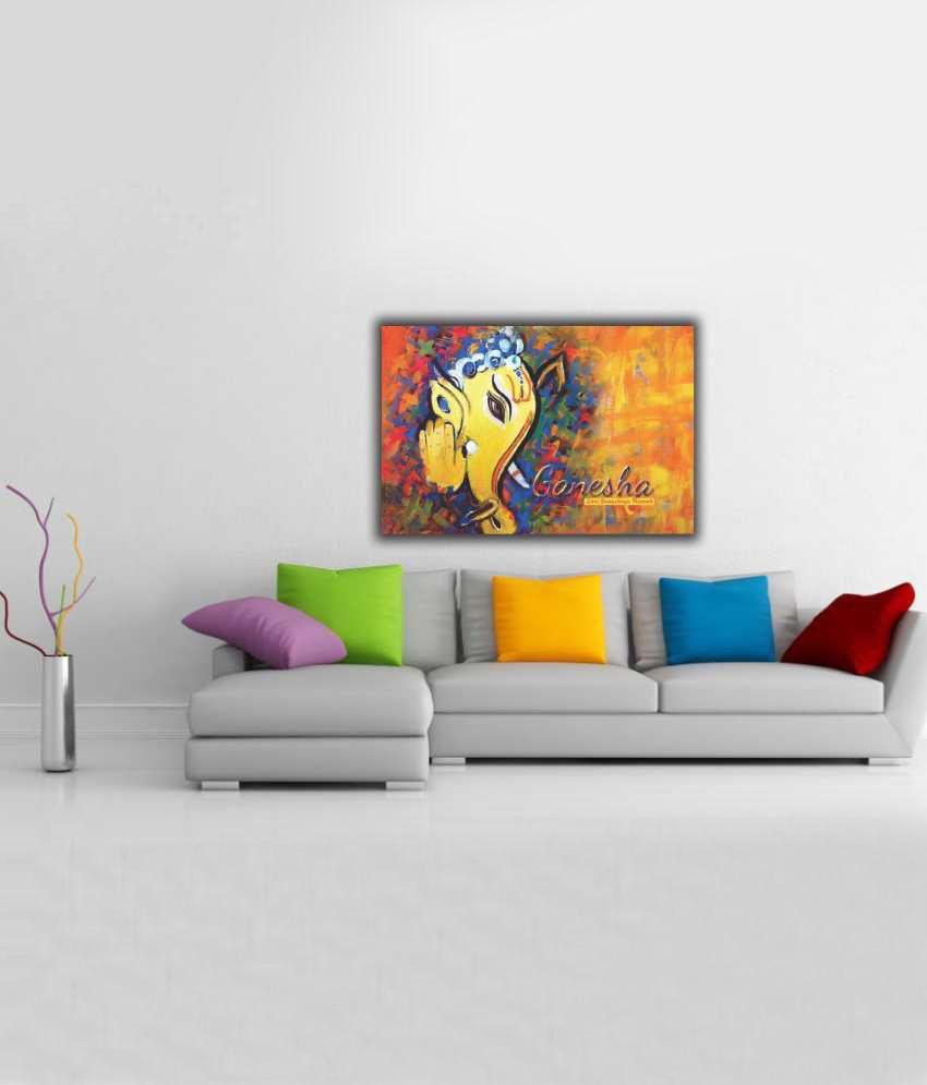 Finearts Modern Art Ganesh Canvas Wall