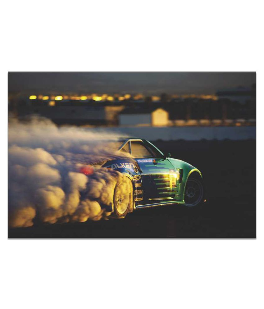 Finearts Motor Sport Canvas Wall Painting