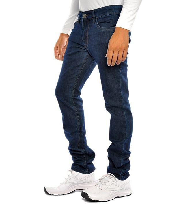 Flying Machine Men Jeans With Lycra Denim Slim Fit