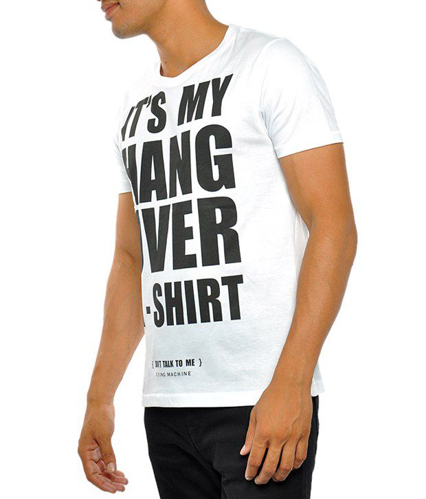 960c8046073 Flying Machine Men T Shirts Short Sleeve White Crew Neck - Buy Flying  Machine Men T Shirts Short Sleeve White Crew Neck Online at Low Price -  Snapdeal.com