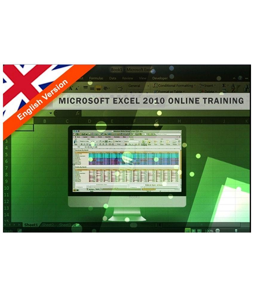 microsoft excel 2010 online training by ecareers buy