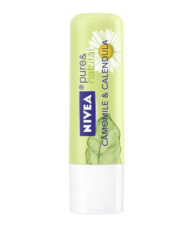 Nivea Lip Care pure & Natural (Camomile & Calendula) 4.8