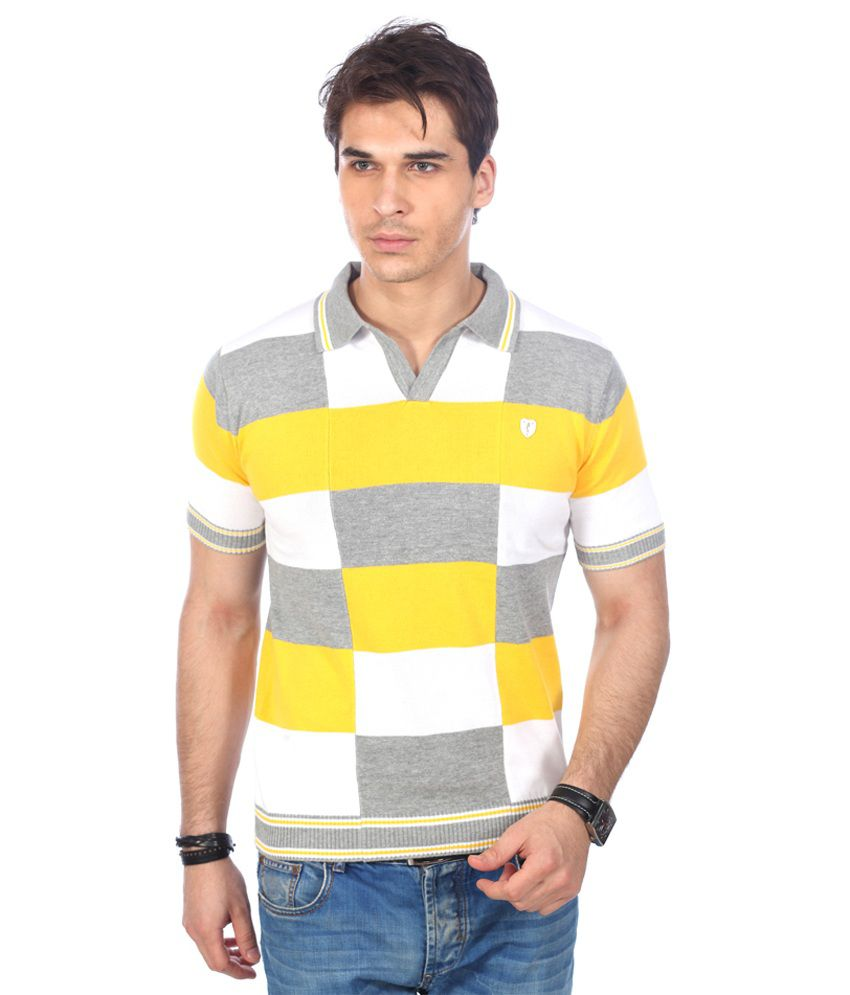 Stride Yellow Tshirt