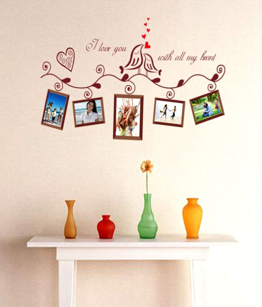 Wall Stickers With Photo Frames India A Wall Decal