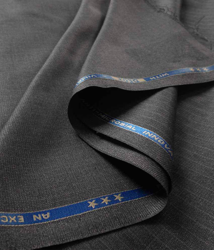 a090e48cc0a Vimal Gray Stripes Trouser Fabric - Buy Vimal Gray Stripes Trouser Fabric  Online at Best Prices in India on Snapdeal