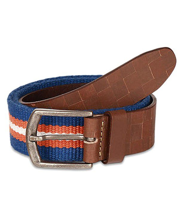 paradigm desin lab Blue Casual Single Belt ForMen
