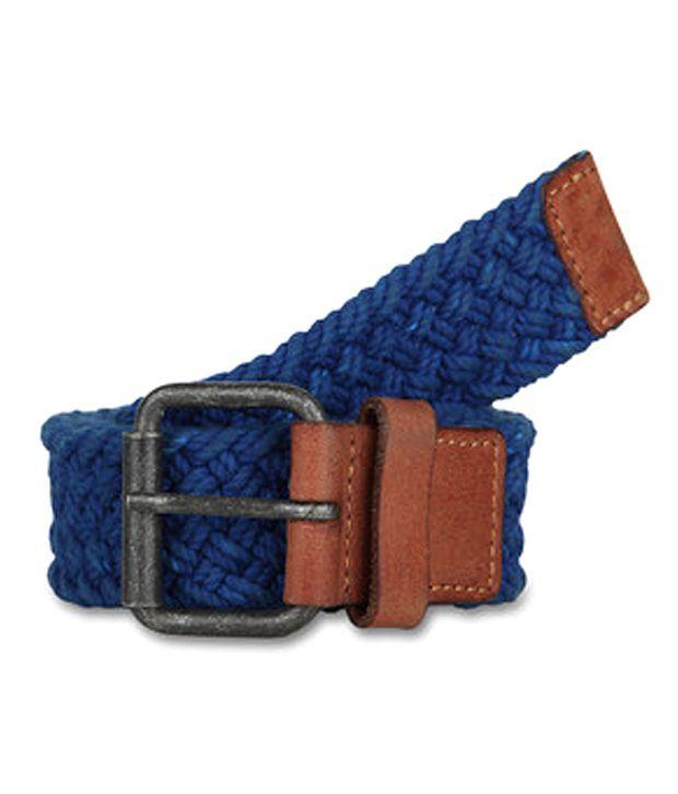 paradigm desin lab Blue Casual Single Belt ForMen