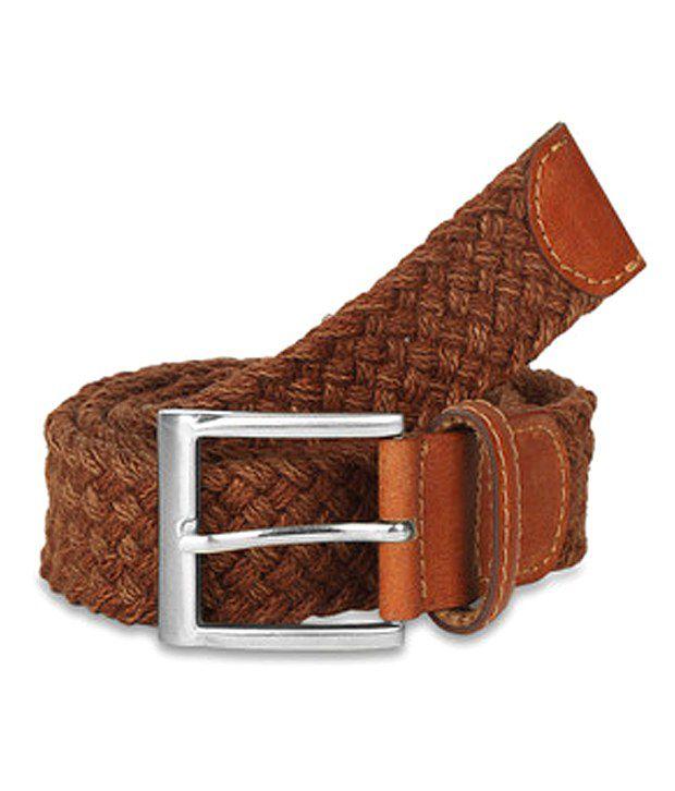 paradigm desin lab Brown Casual Single Belt ForMen