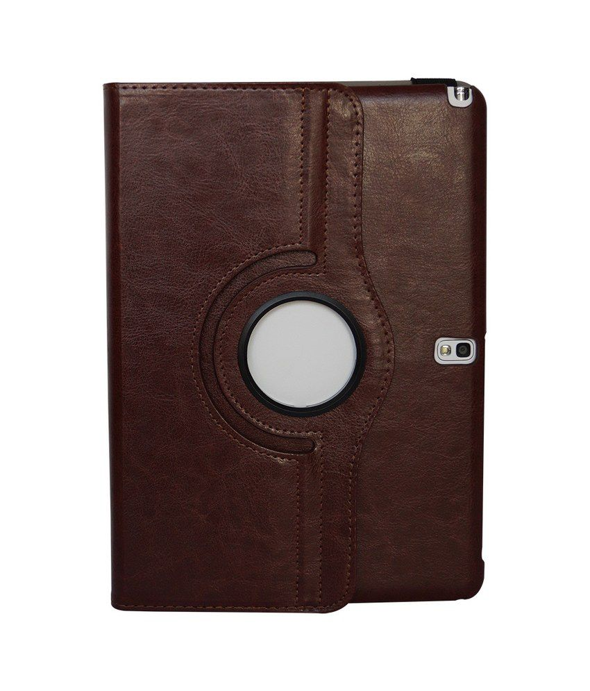 Hoko Cases & Cover For Samsung Galaxy Note 10.1 Sm-P601 With Wake/Sleep Feature And Card Slot - Brown