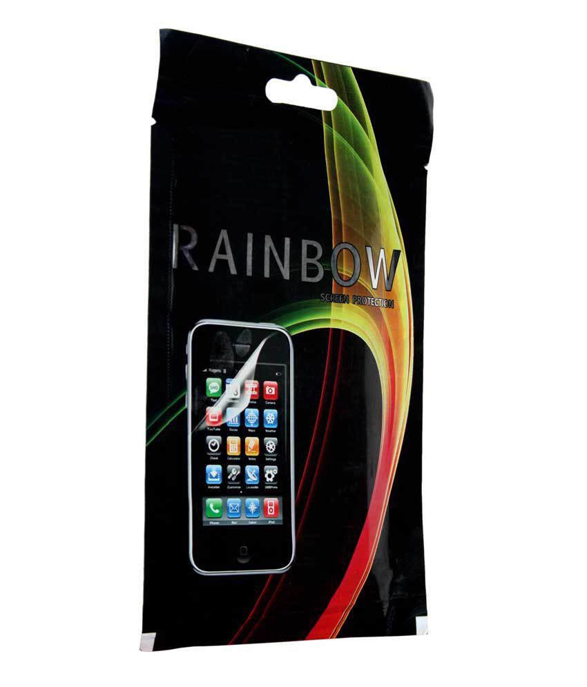Rainbow Clear Screen Guard/Protector for LG F70