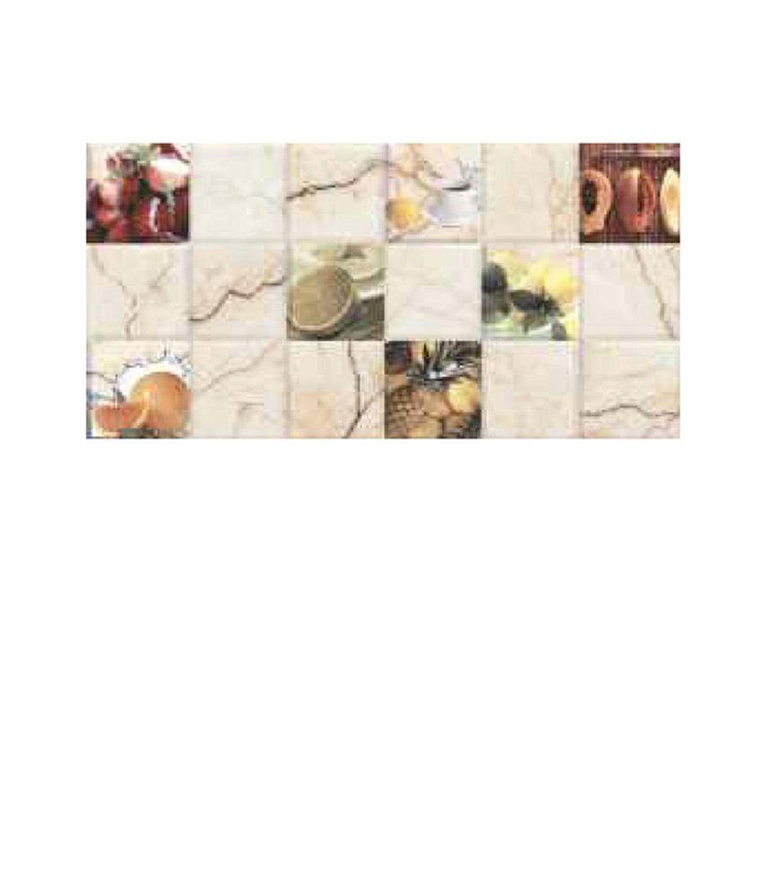 Somany Digital Ceramic Wall Tiles Kitchen 01 C Glossy 2500