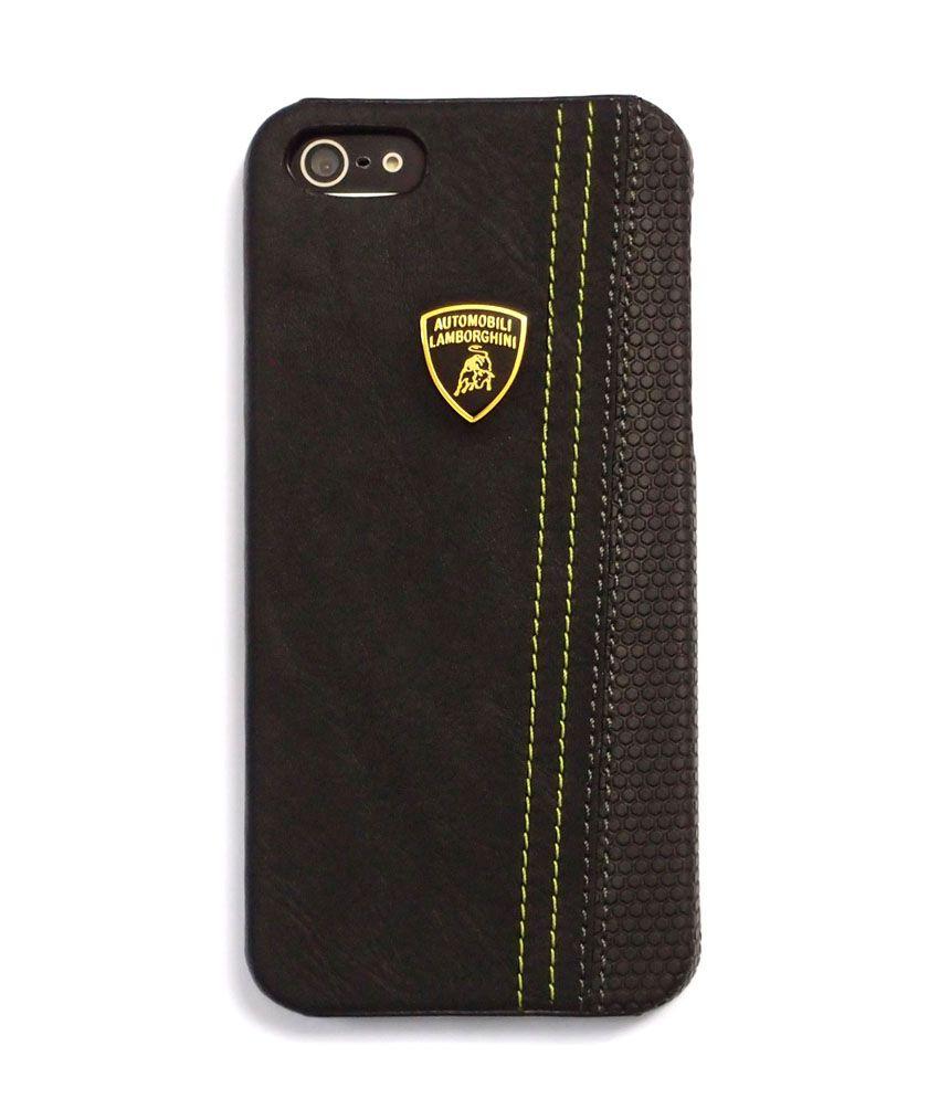 huge discount 10897 9d6cd Automobili Lamborghini Superleggera-D1 Genuine Leather Cover Case for  Iphone 5/5s