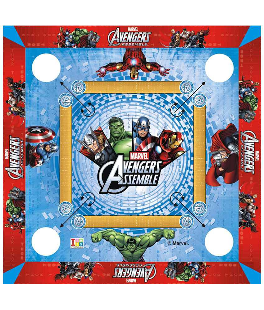 Disney Avengers Carrom Board - Small