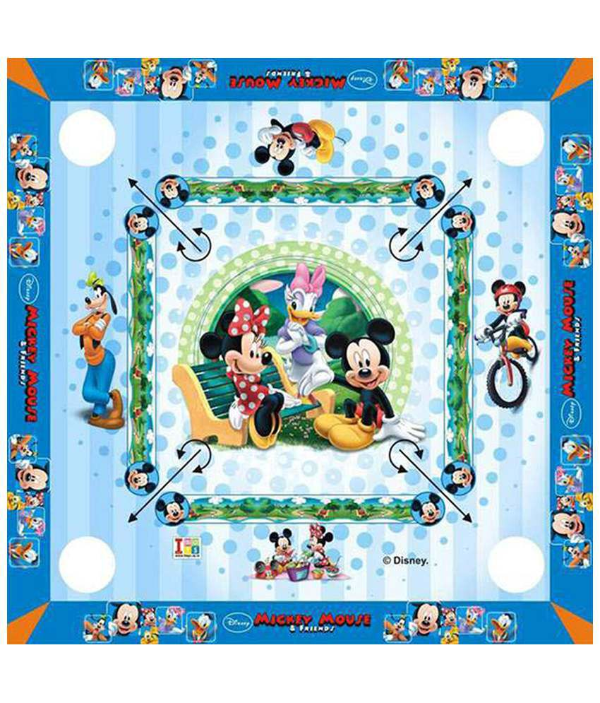 Disney Mickey Mouse & Friends Carrom Board - Big
