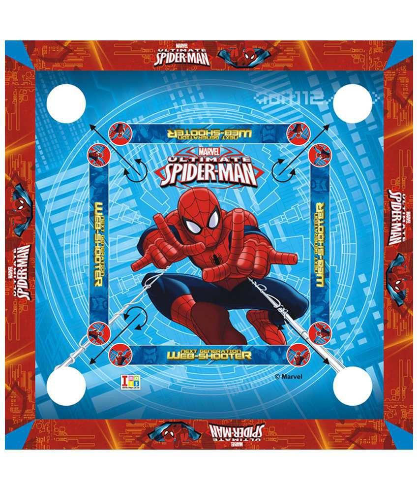 Disney Marvel Ultimate Spiderman Carrom Board - Big