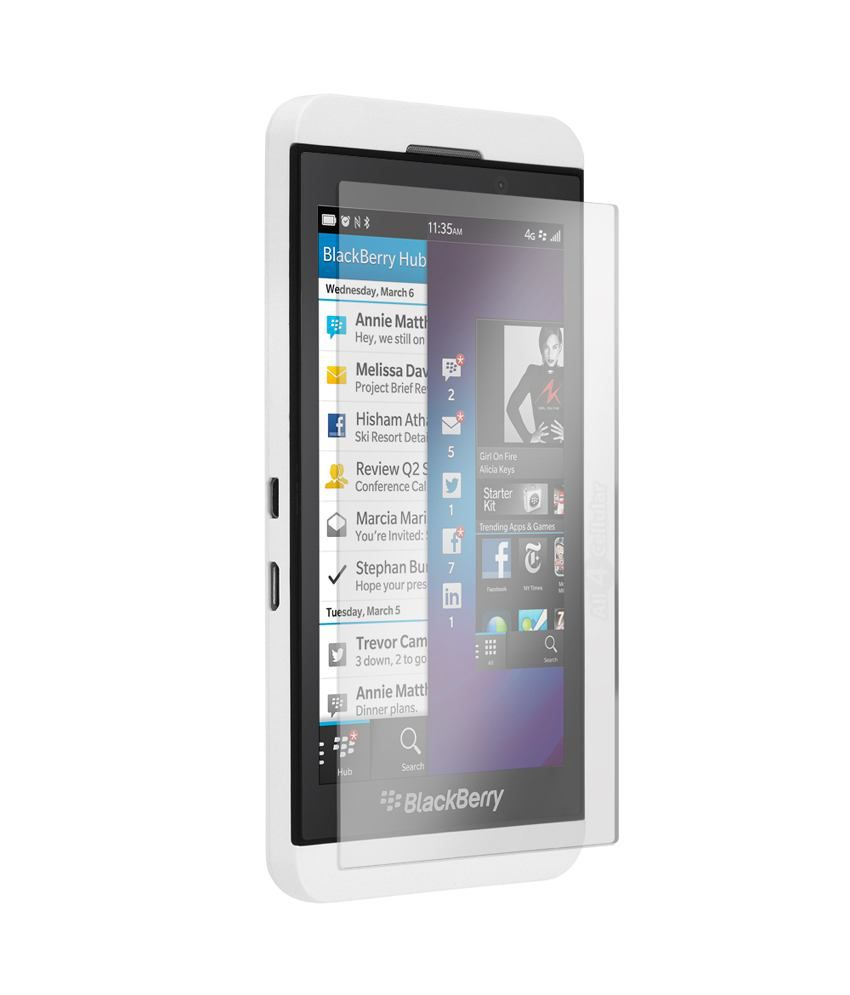 marriage invitation sms on mobile%0A     Blackberry Z   Tempered Glass Screen Guard by GadgetGuruz