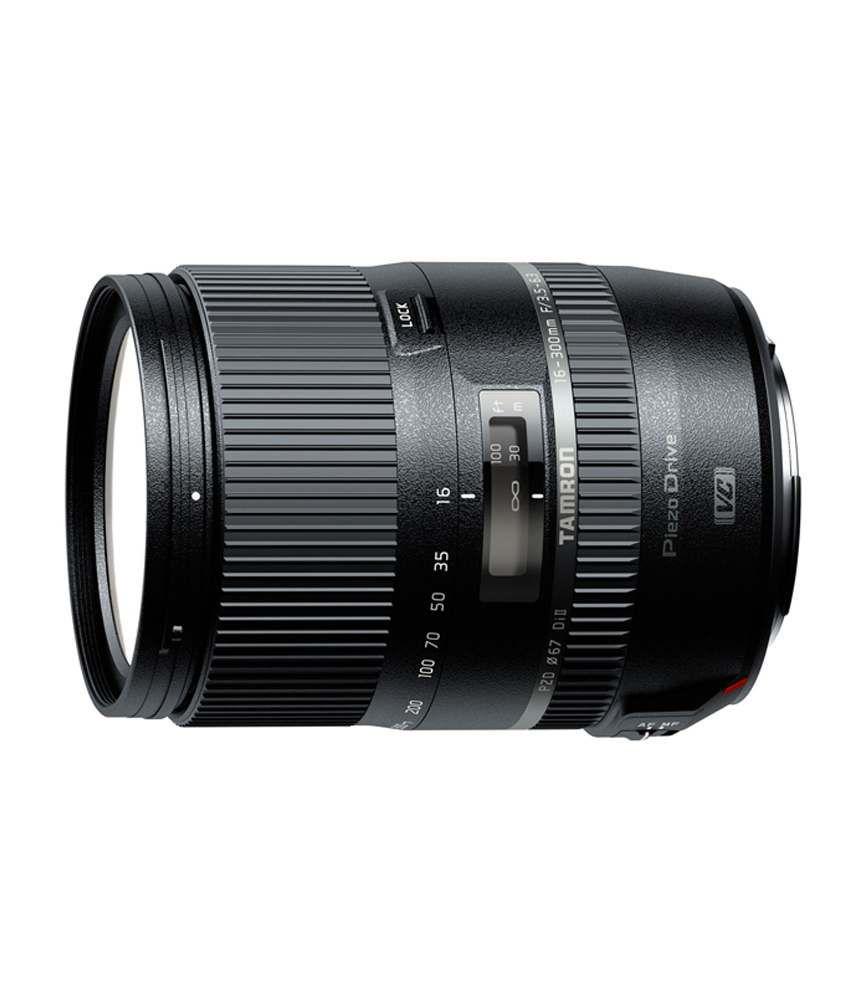 Tamron Zoom Tamron 16-300mm F3.5-6.3 Di Ii Vc Pzd Macro For Eos Canon Mount Canon Efs Lens