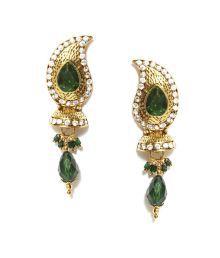 Hi Look Green Earrings