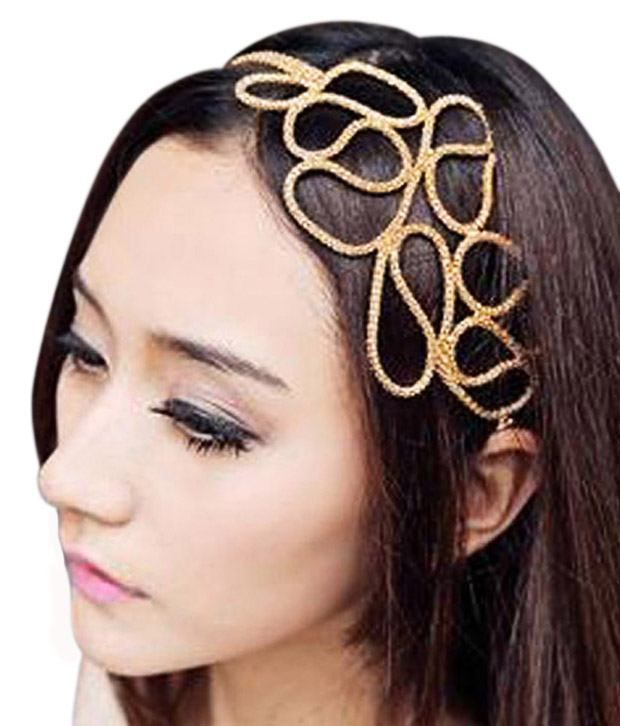 Alia Bhatt Inspired Hair Band by ShinningDiva