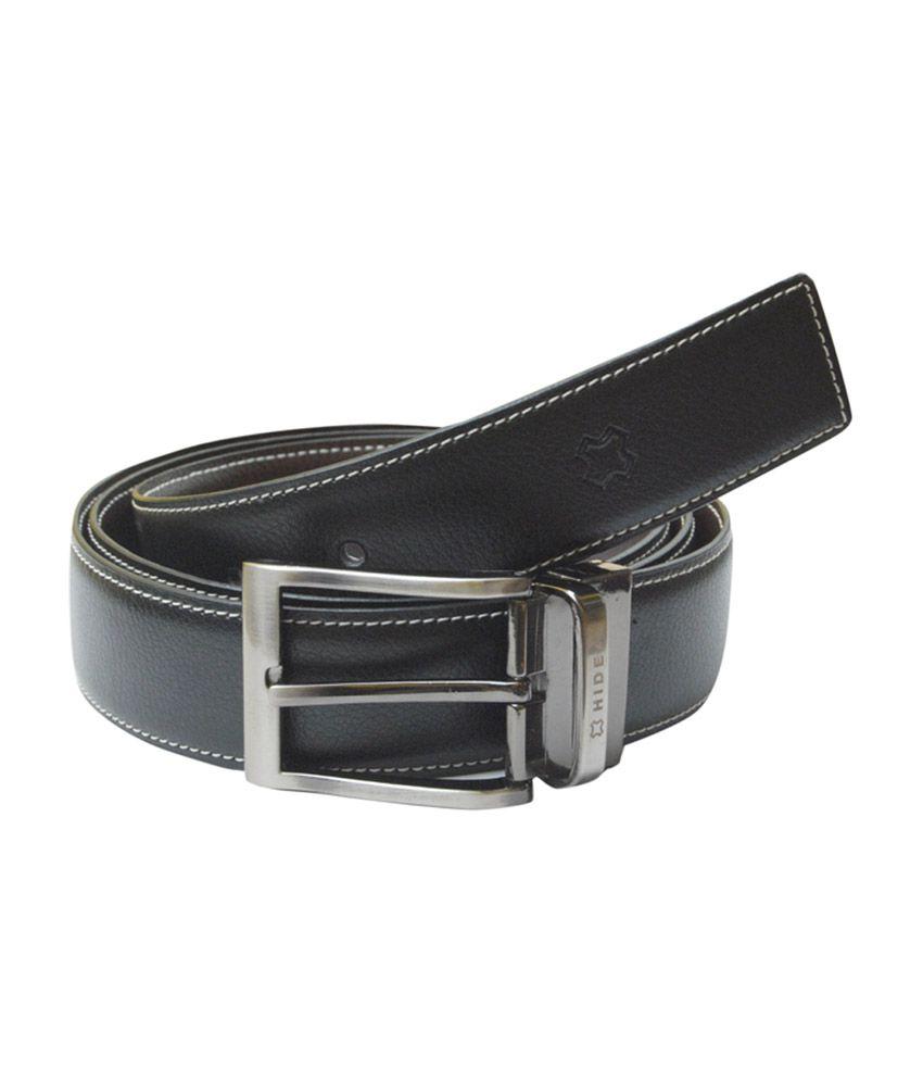 Hidea Multi Reversible Leather Formal Belt For Men