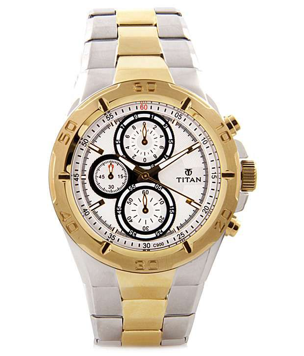 Titan raga gold watches