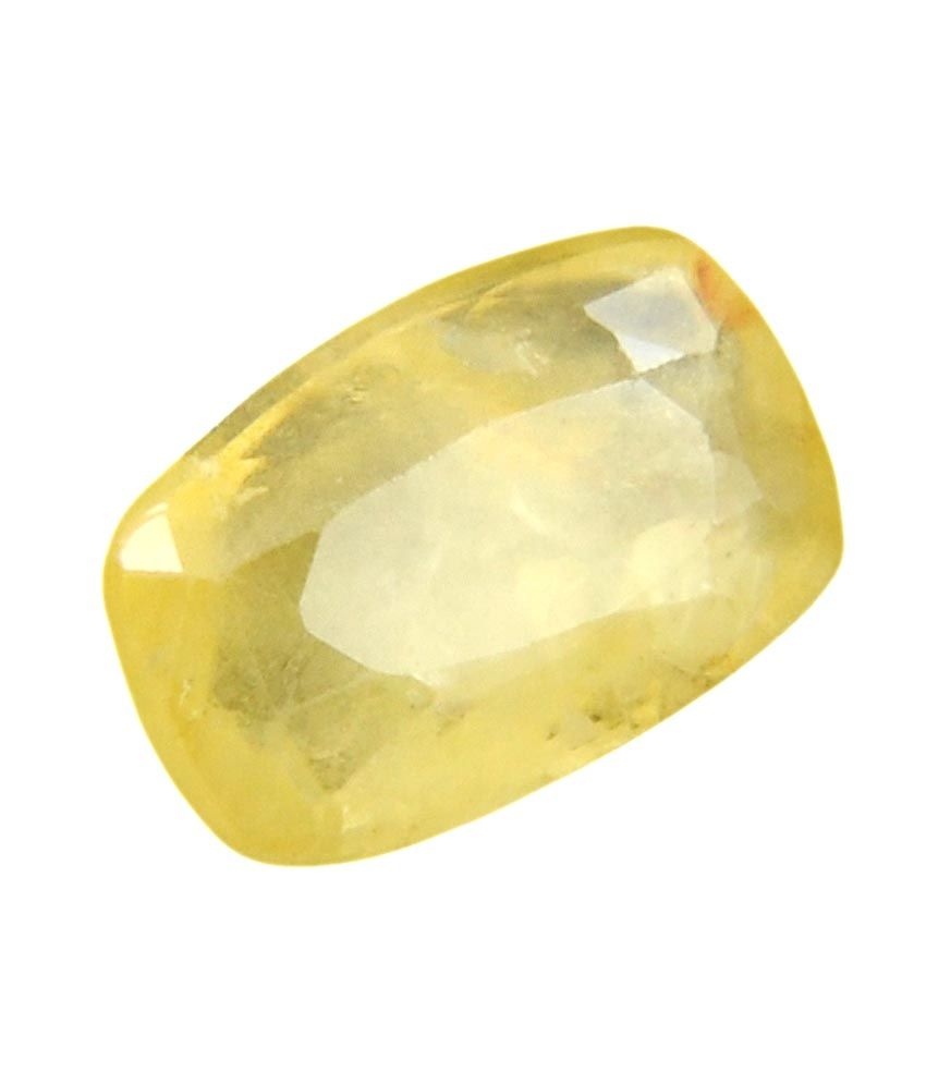 bello jewels pukhraj 7 50 ratti original yellow sapphire